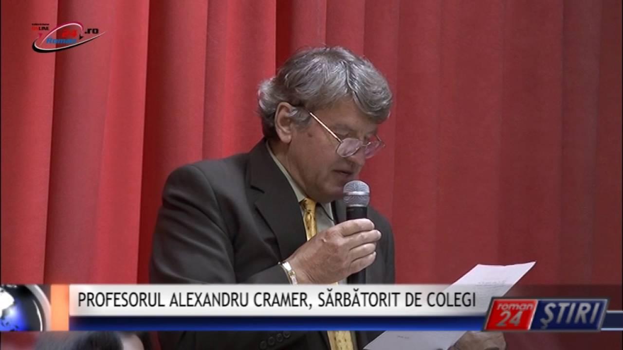 PROFESORUL ALEXANDRU CRAMER, SĂRBĂTORIT DE COLEGI