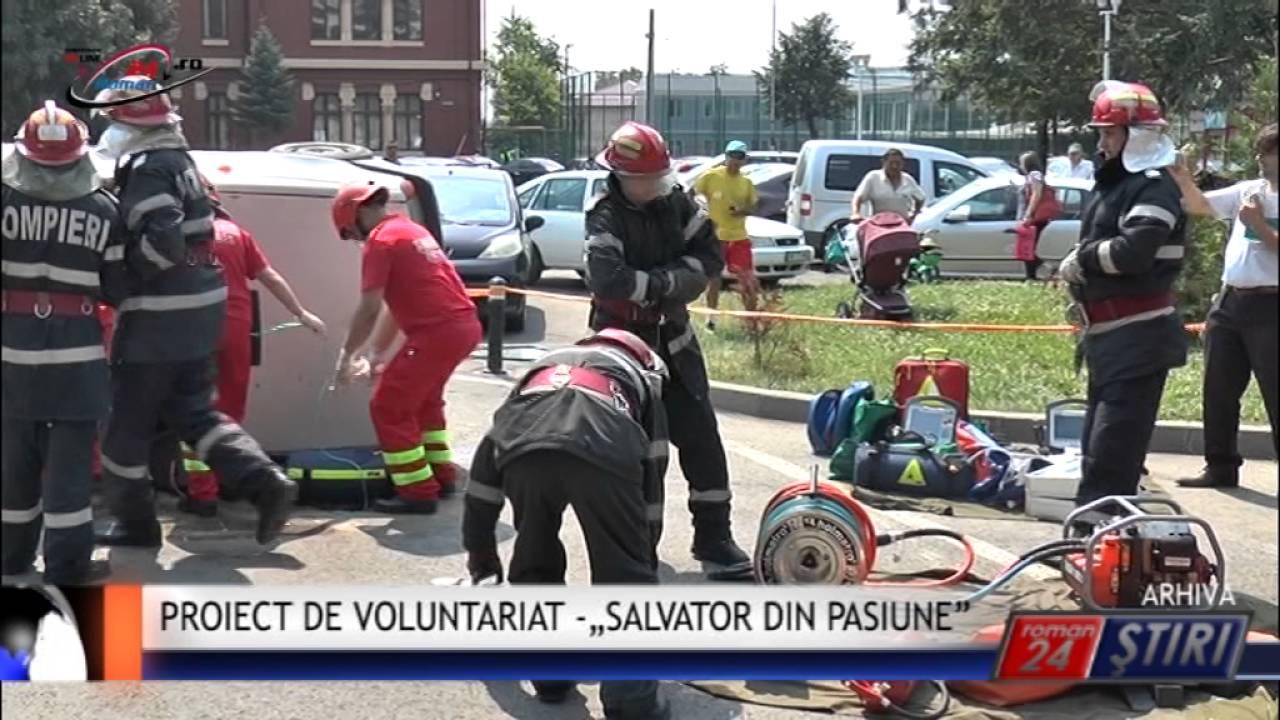 """PROIECT DE VOLUNTARIAT PENTRU ORICE VÂRSTĂ – """"SALVATOR DIN PASIUNE"""""""