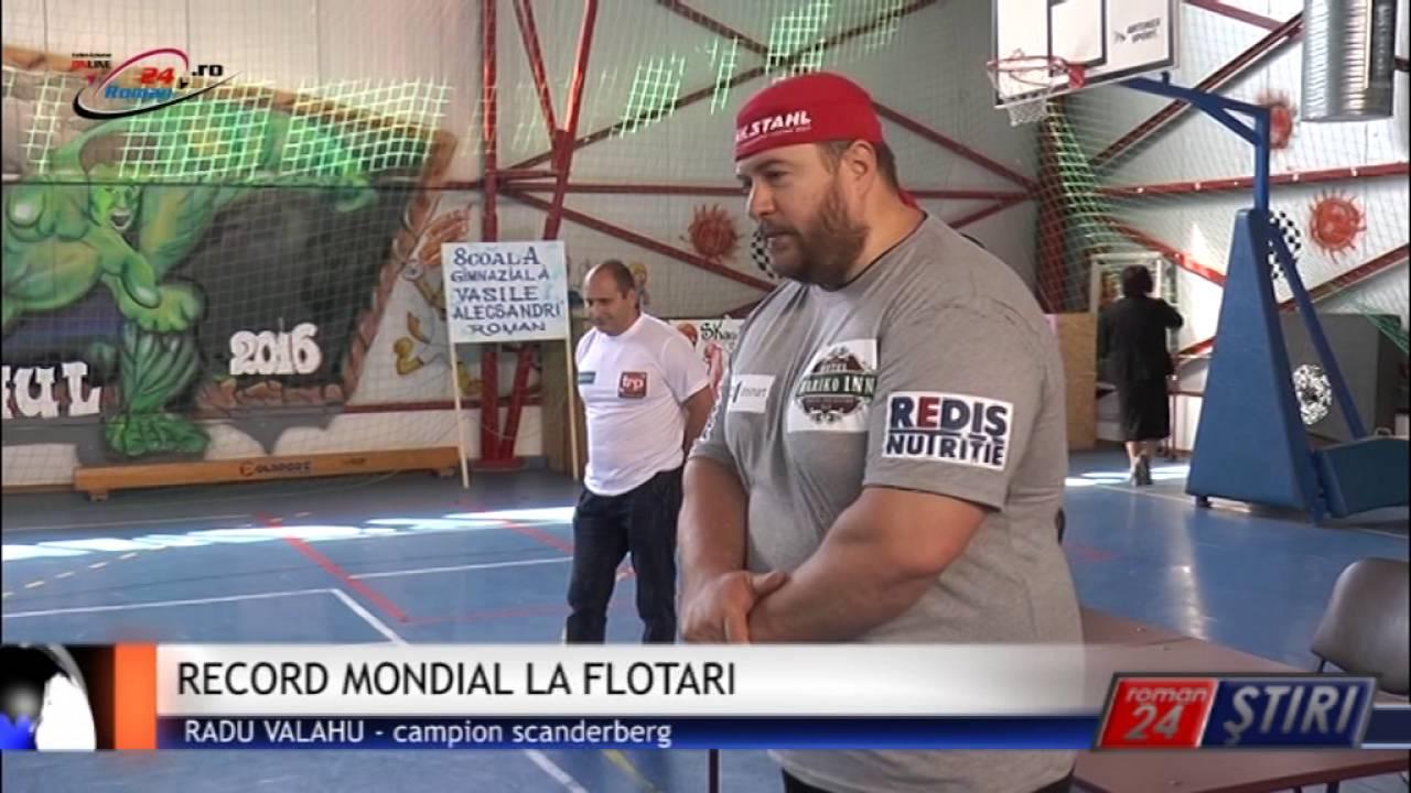 RECORD MONDIAL LA FLOTARI