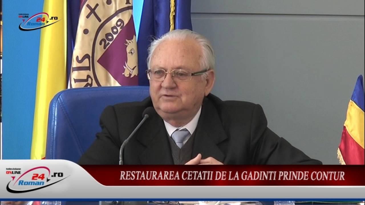 RESTAURAREA CETATII DE LA GADINTI PRINDE CONTUR