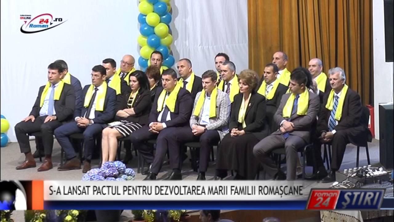 S-A LANSAT PACTUL PENTRU DEZVOLTAREA MARII FAMILII ROMAȘCANE