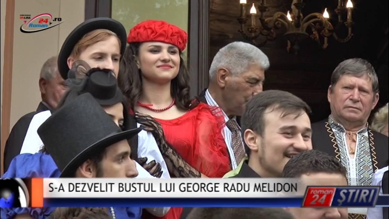 S‐A DEZVELIT BUSTUL LUI GEORGE RADU MELIDON