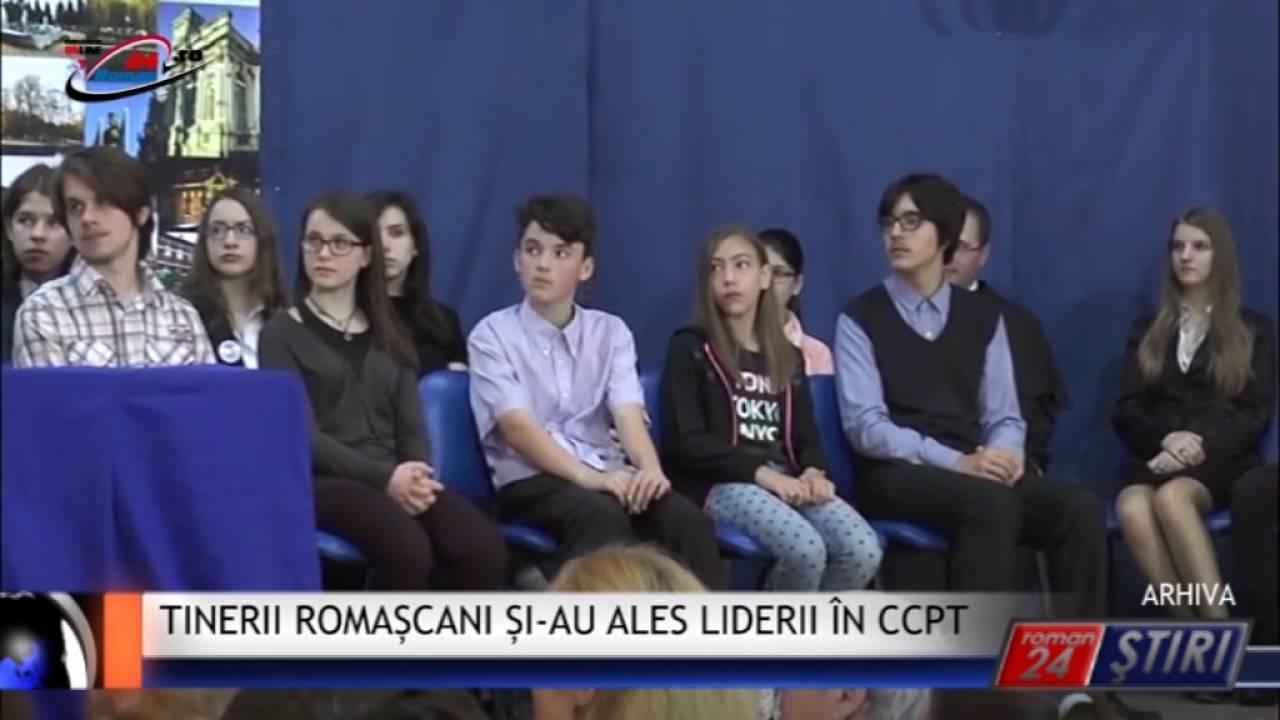 TINERII ROMAȘCANI ȘI-AU ALES LIDERII ÎN CCPT