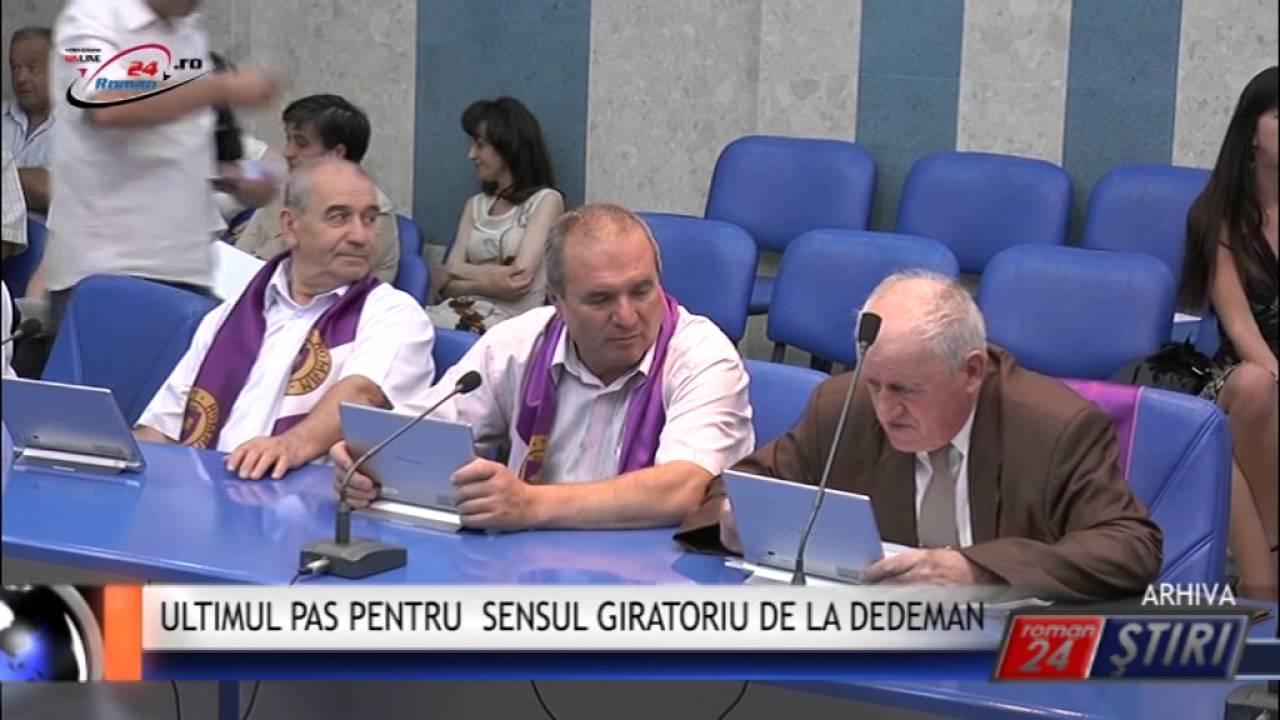 ULTIMUL PAS PENTRU SENSUL GIRATORIU DE LA DEDEMAN