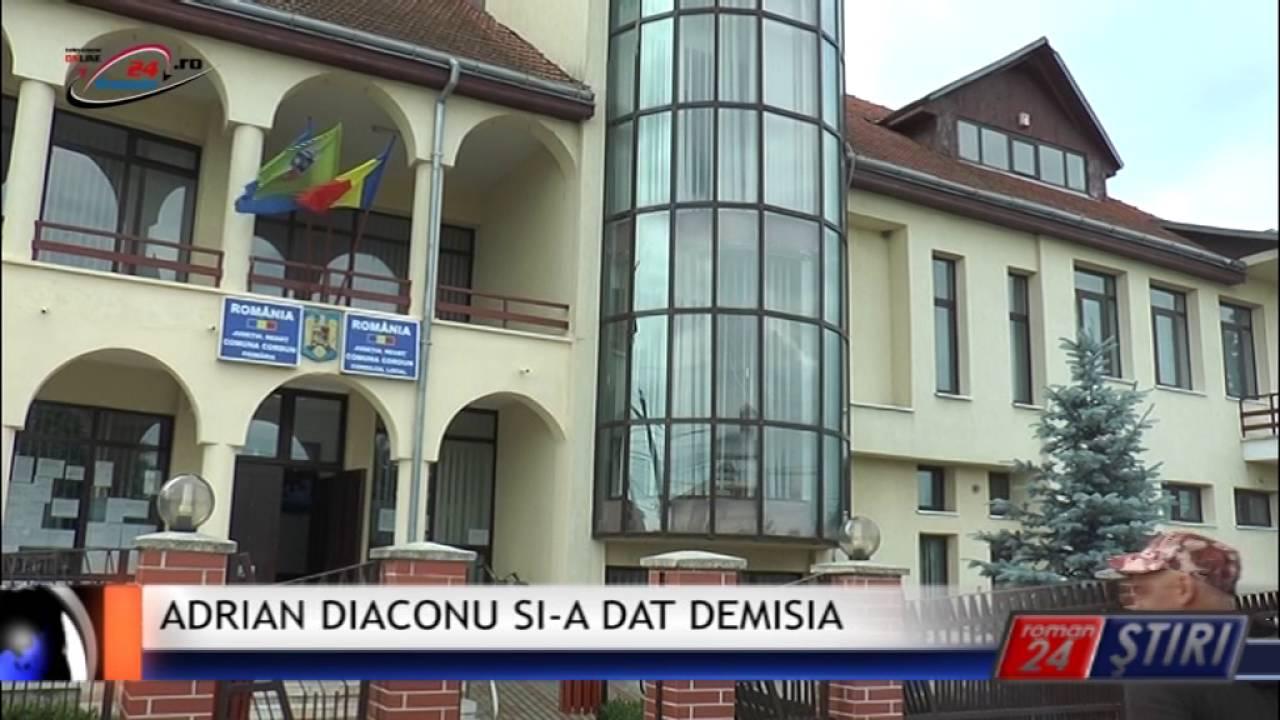 ADRIAN DIACONU SI-A DAT DEMISIA