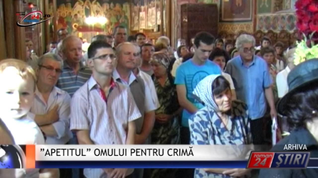 """""""APETITUL"""" OMULUI PENTRU CRIMĂ"""
