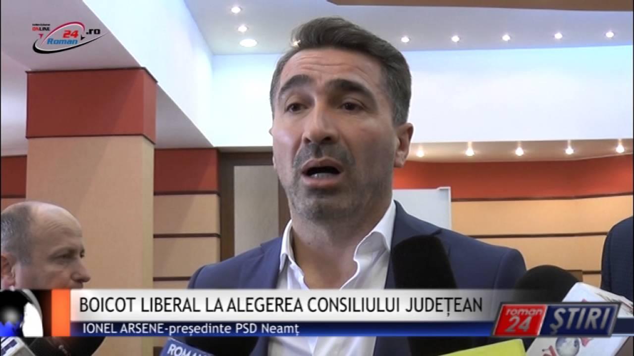 BOICOT LIBERAL LA ALEGEREA CONSILIULUI JUDEȚEAN