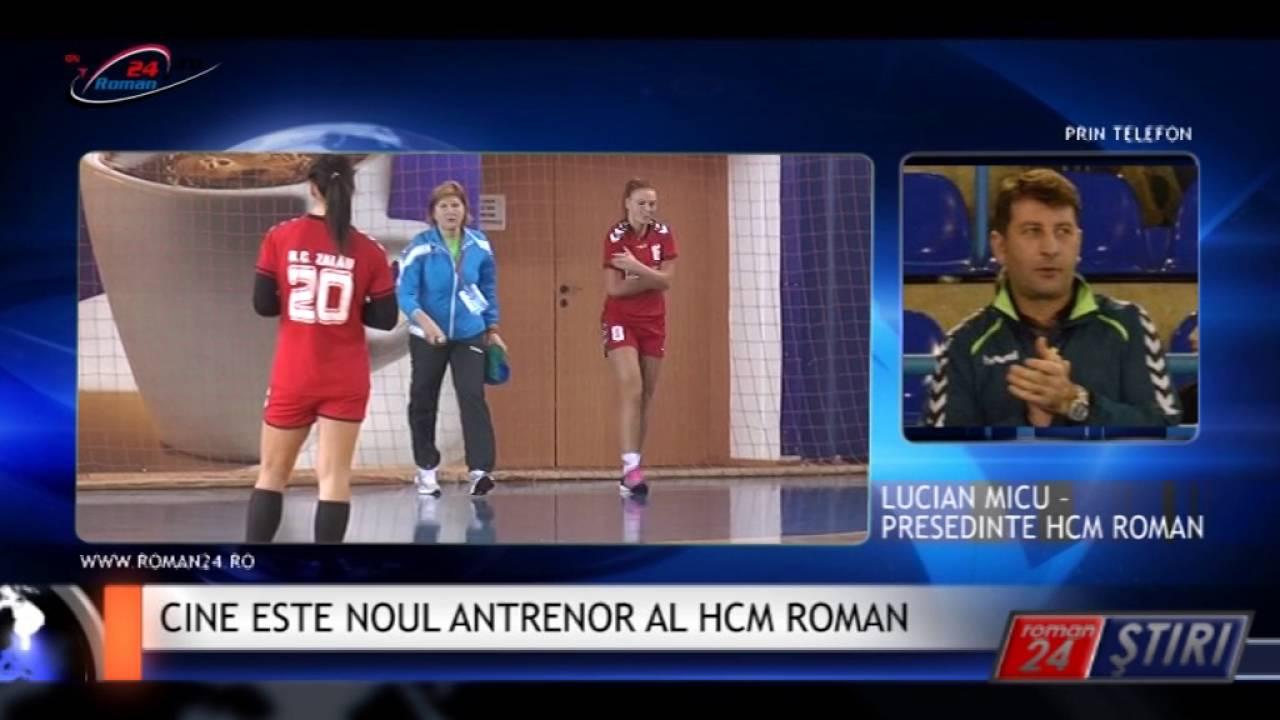 CINE ESTE NOUL ANTRENOR AL HCM ROMAN