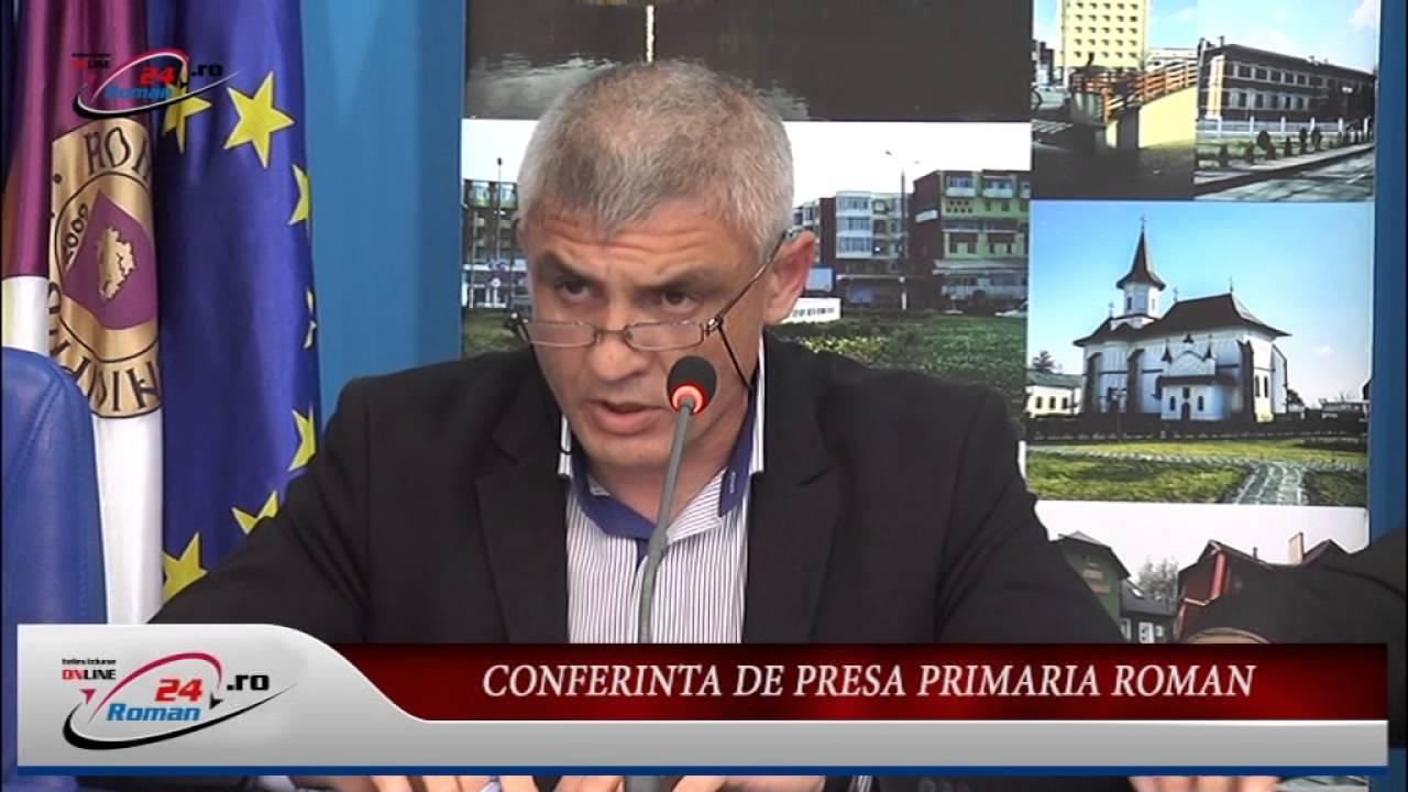 CONFERINTA DE PRESA PRIMARIA ROMAN – 2.06.2016