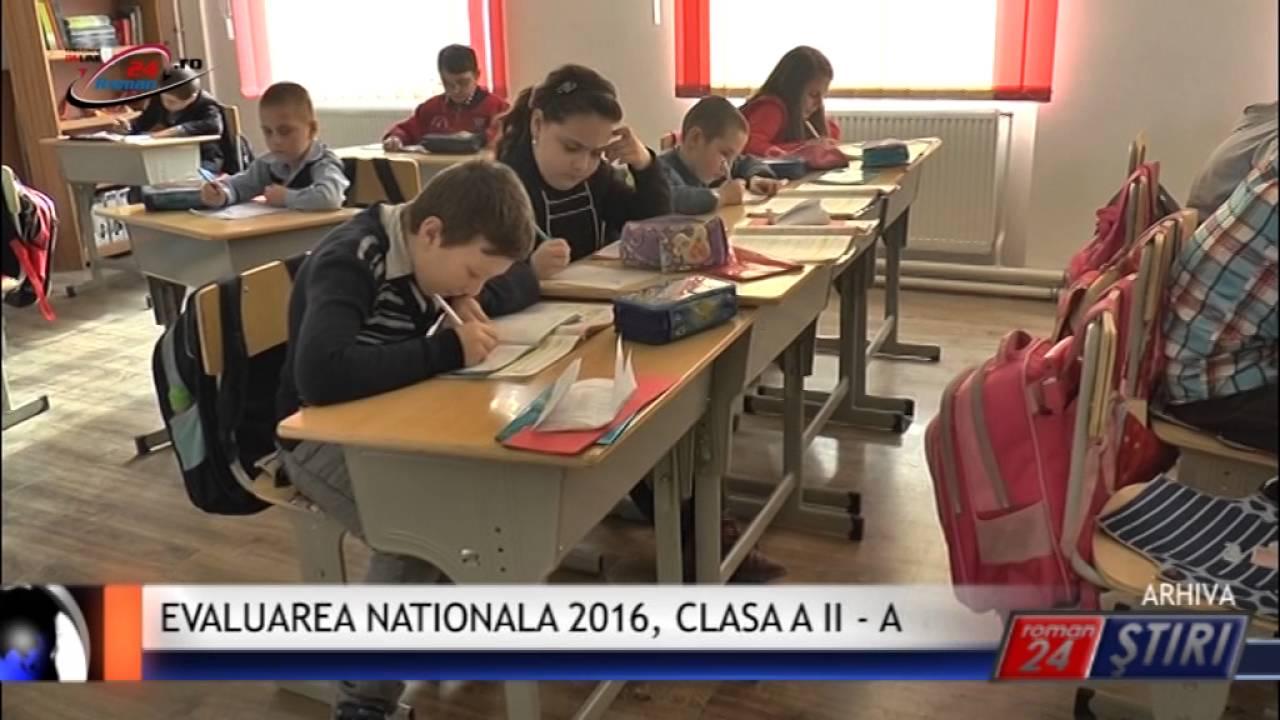 EVALUAREA NATIONALA, CLASA A II-A