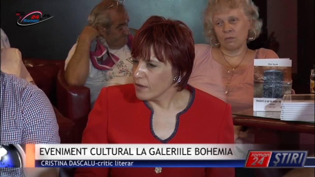 EVENIMENT CULTURAL LA GALERIILE BOHEMIA
