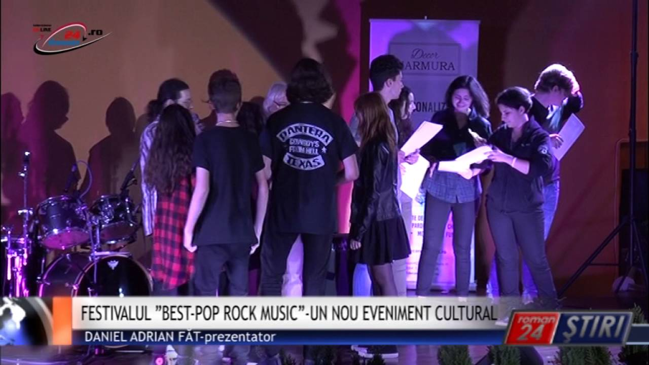 "FESTIVALUL ""BEST-POP ROCK MUSIC""-UN NOU EVENIMENT CULTURAL"