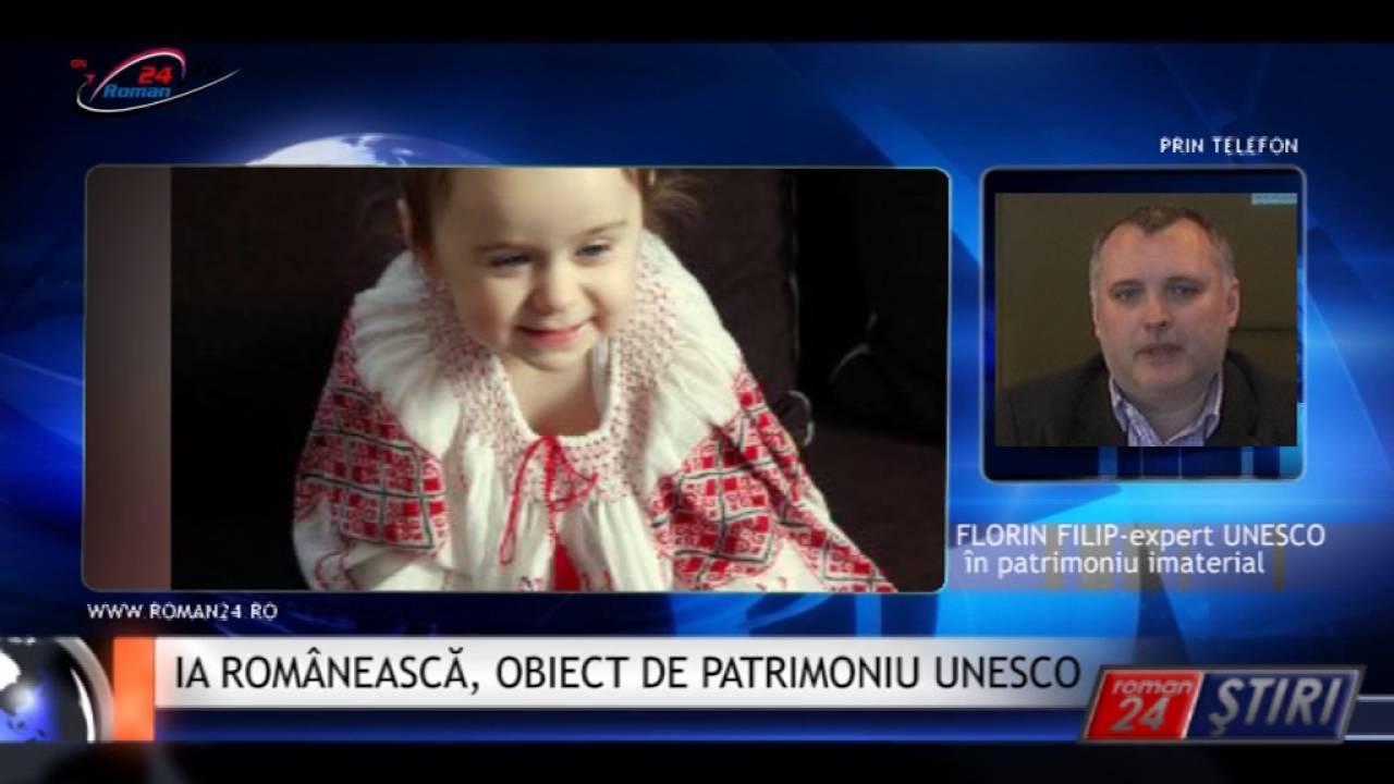 IA ROMÂNEASCĂ, OBIECT DE PATRIMONIU UNESCO