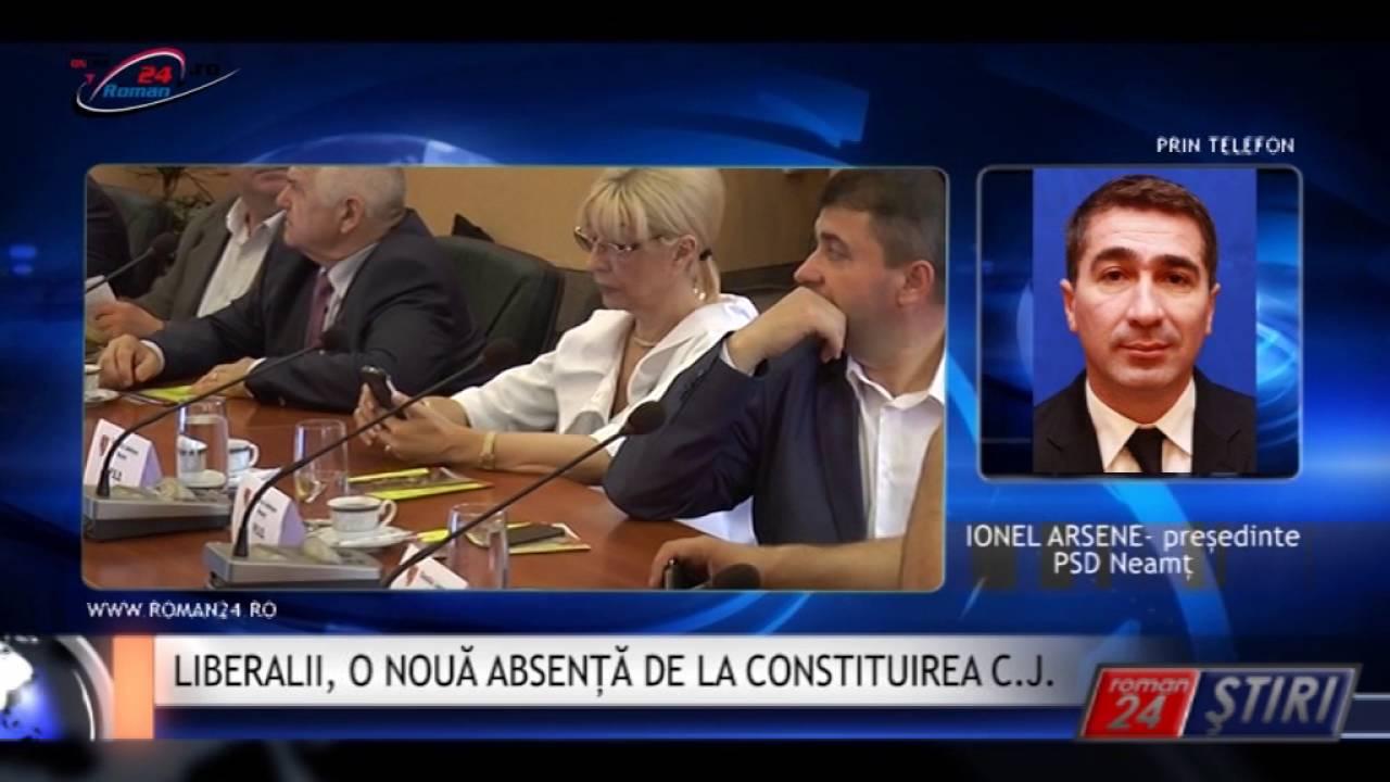 LIBERALII, O NOUĂ ABSENȚĂ DE LA CONSTITUIREA C.J