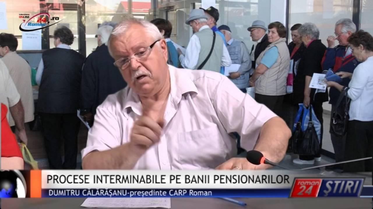 PROCESE INTERMINABILE PE BANII PENSIONARILOR