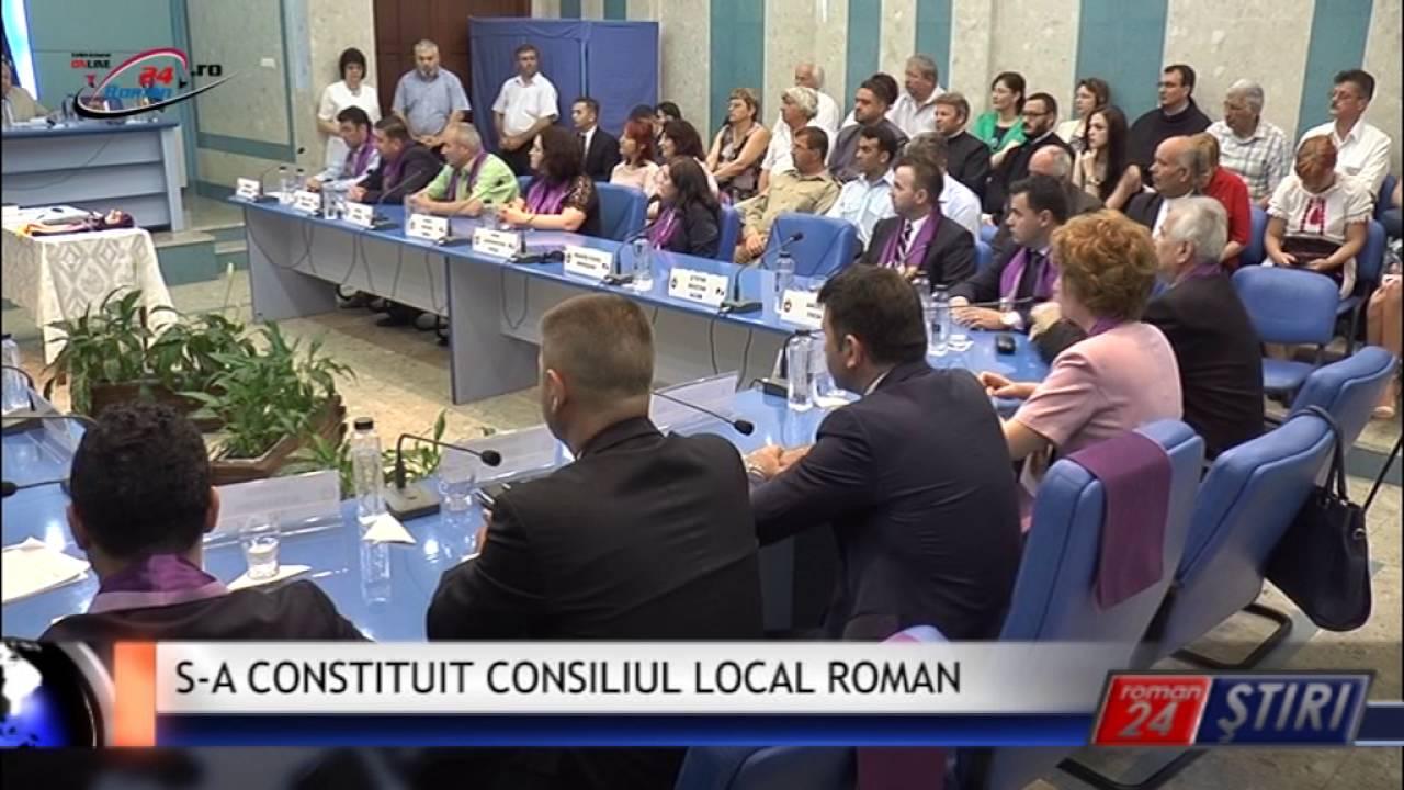 S-A CONSTITUIT CONSILIUL LOCAL ROMAN