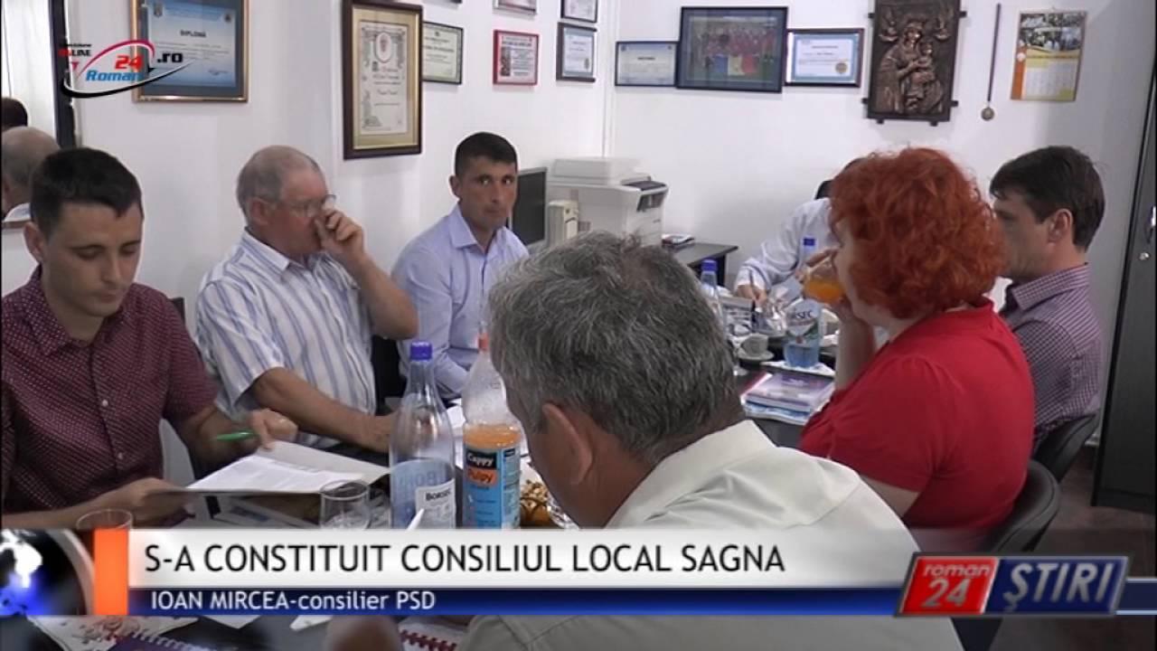 S-A CONSTITUIT CONSILIUL LOCAL SAGNA