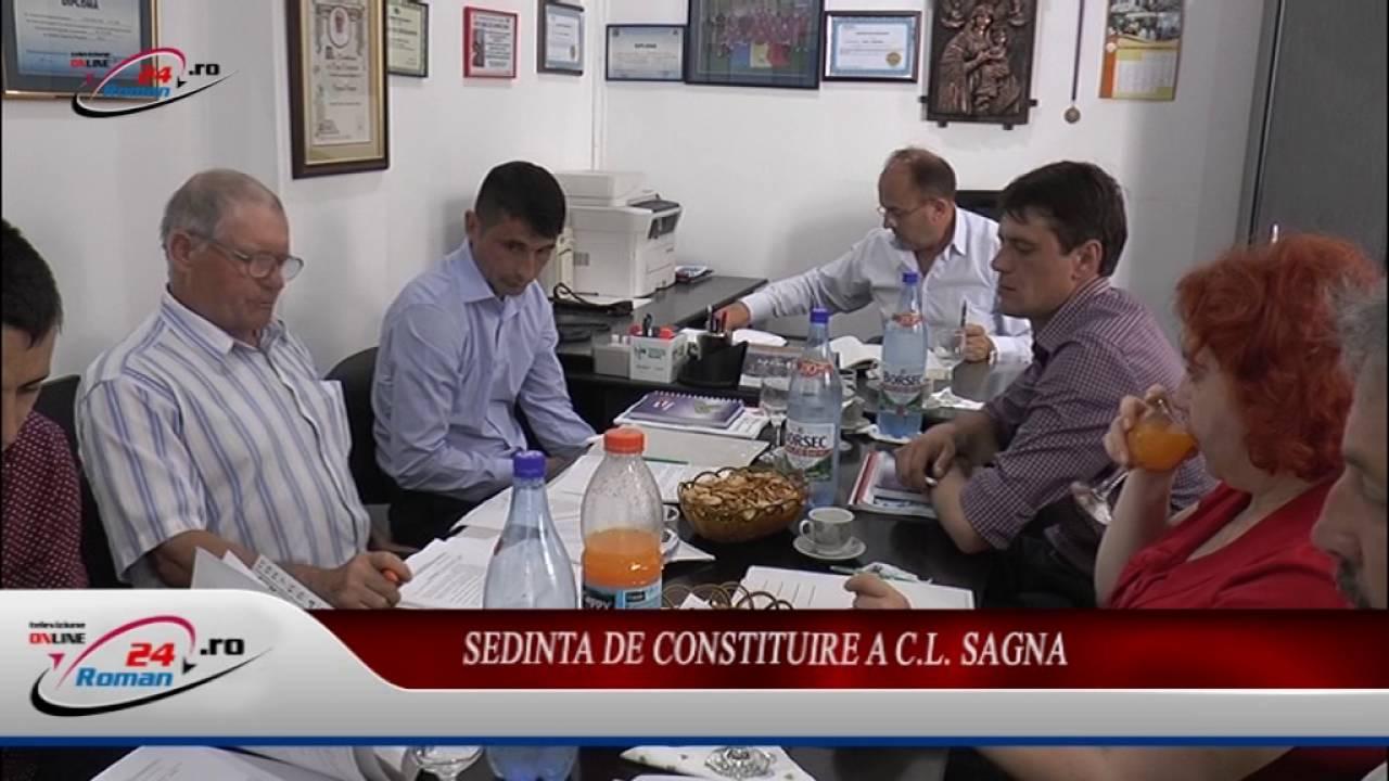 Sedinta de Constituire a C.L. Sagna