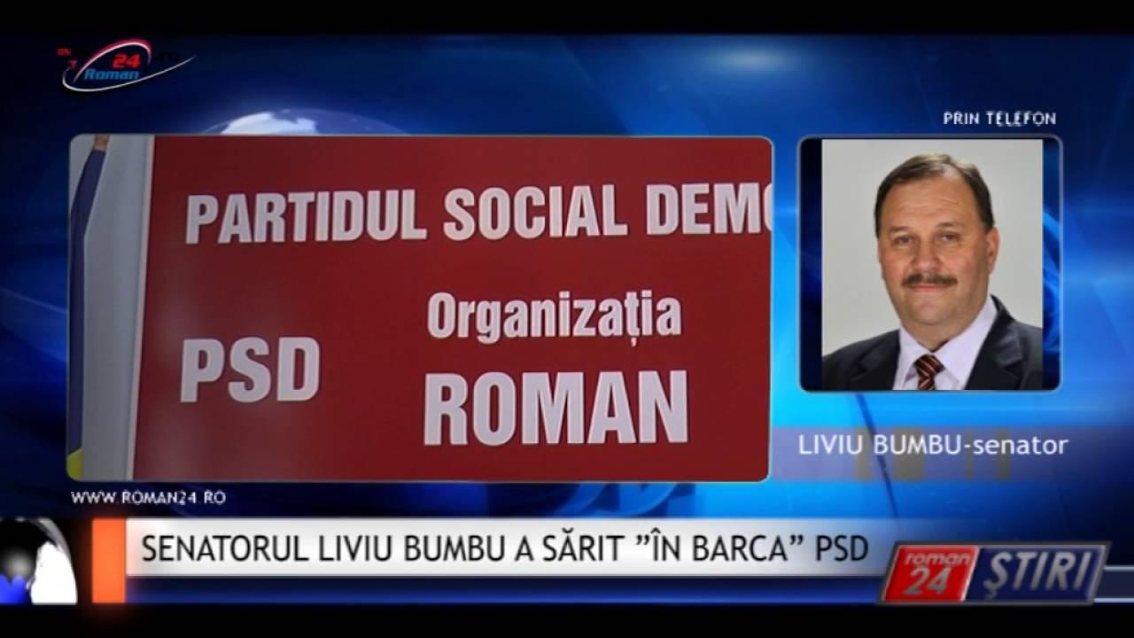 """SENATORUL LIVIU BUMBU A SĂRIT """"ÎN BARCA"""" PSD"""
