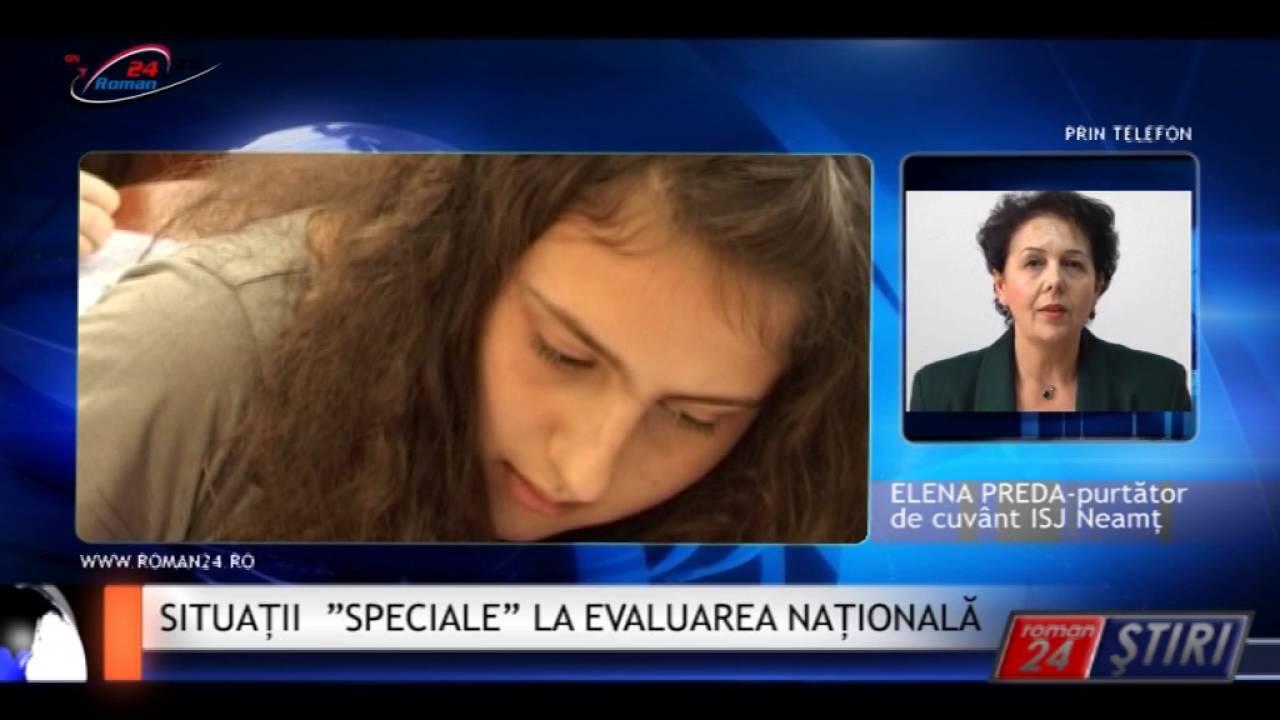 """SITUAȚII """"SPECIALE"""" LA EVALUAREA NAȚIONALĂ"""