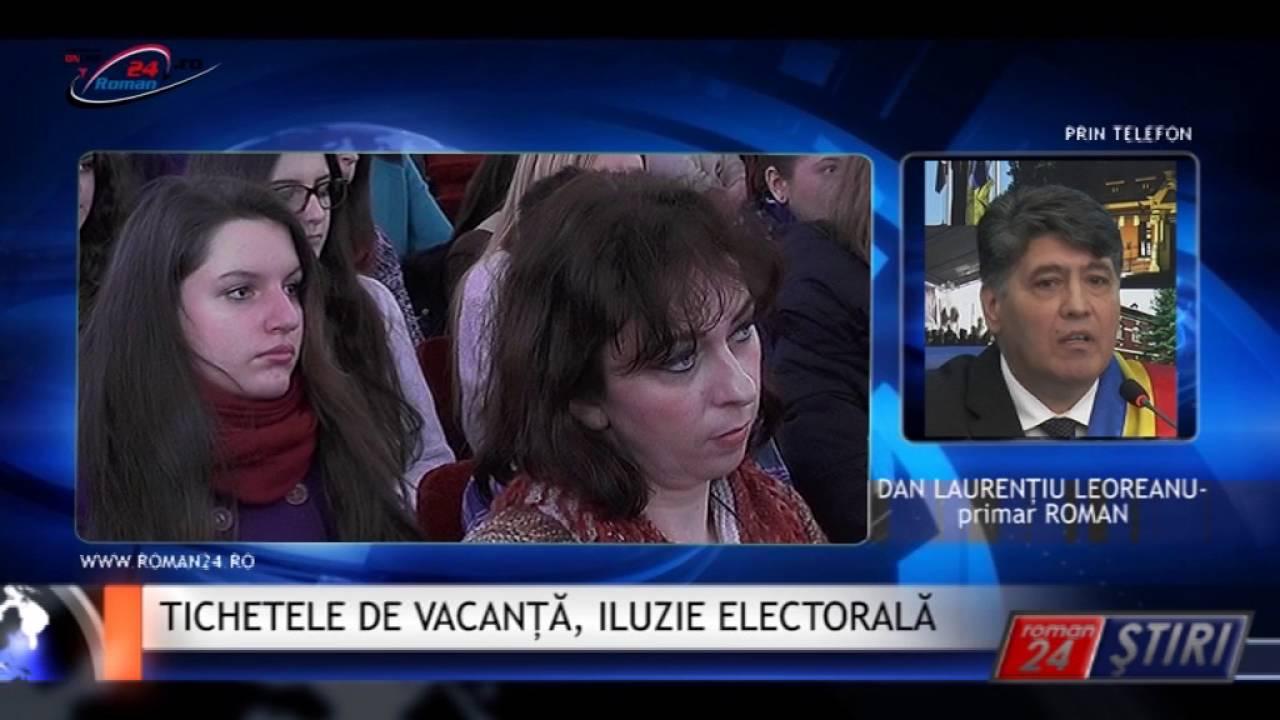 TICHETELE DE VACANȚĂ, ILUZIE ELECTORALĂ
