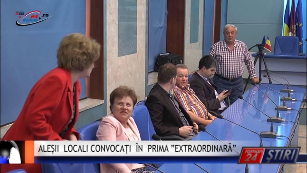 """ALEȘII LOCALI CONVOCAȚI ÎN PRIMA """"EXTRAORDINARĂ"""""""