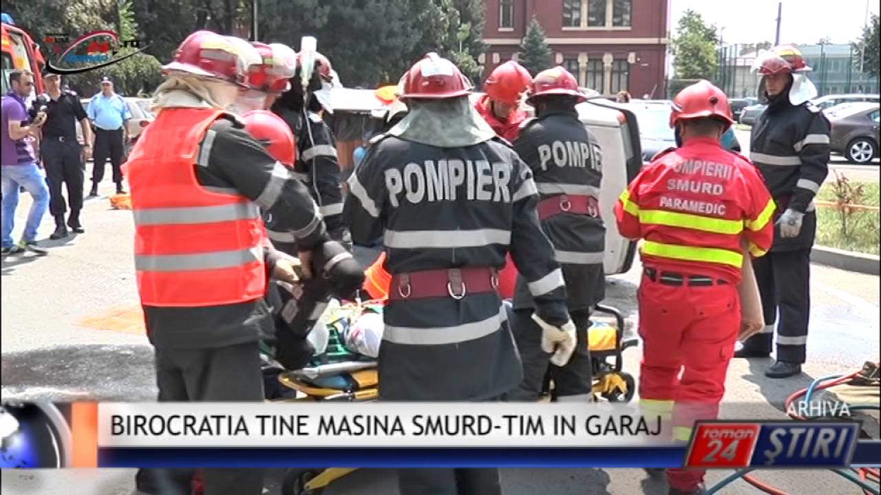 BIROCRATIA TINE MASINA SMURD-TIM IN GARAJ