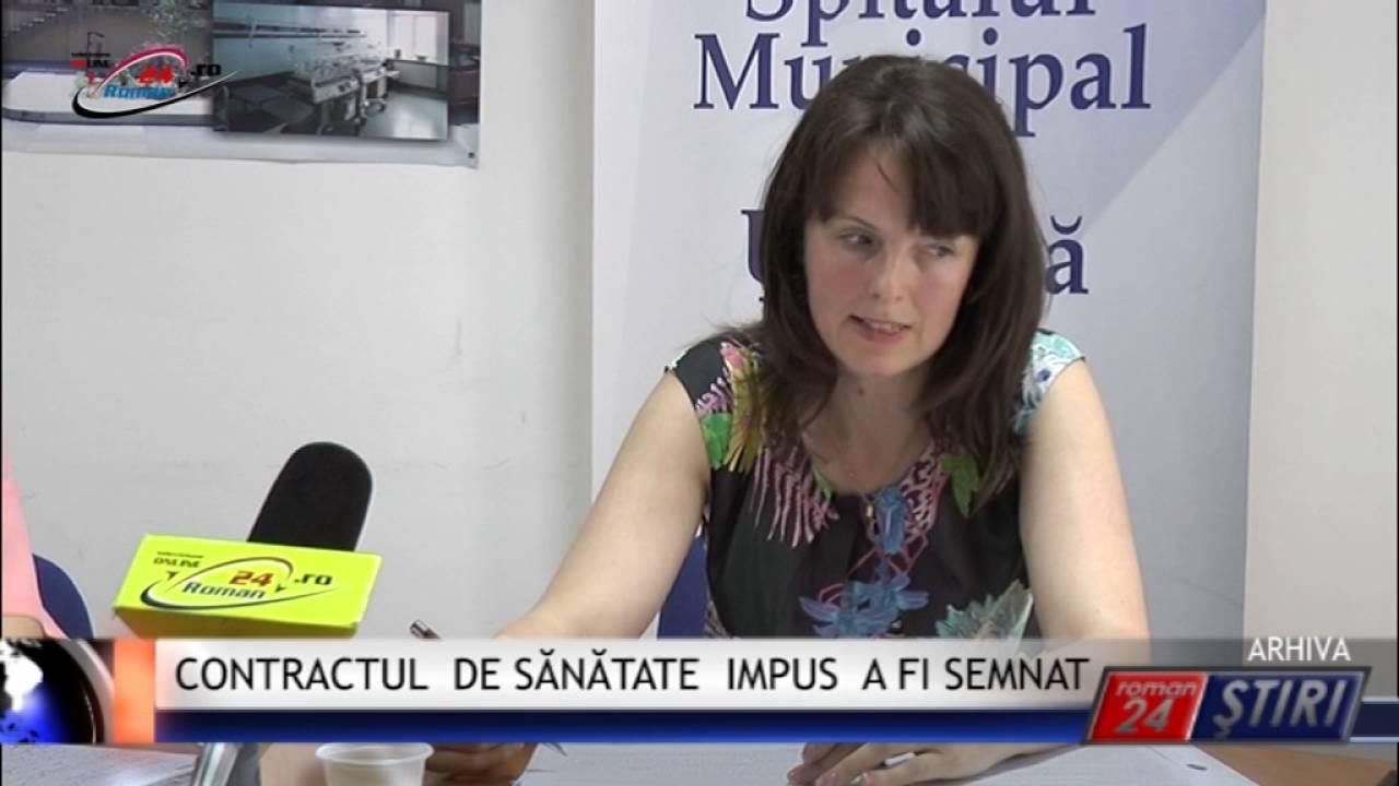 CONTRACTUL DE SĂNĂTATE IMPUS A FI SEMNAT