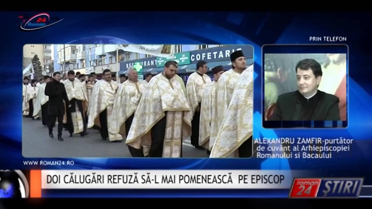 DOI CĂLUGĂRI REFUZĂ SĂ-L MAI POMENEASCĂ PE EPISCOP