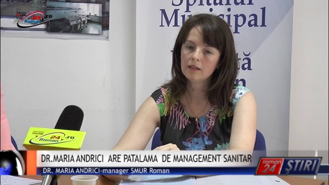 DR.MARIA ANDRICI ARE PATALAMA DE MANAGEMENT SANITAR