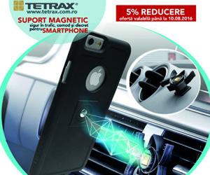 eMag – Suport pentru smartphone red 5%