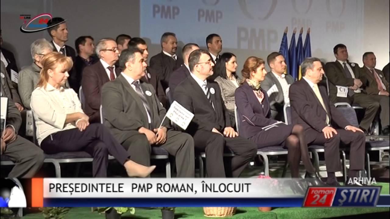 PREȘEDINTELE PMP ROMAN, ÎNLOCUIT