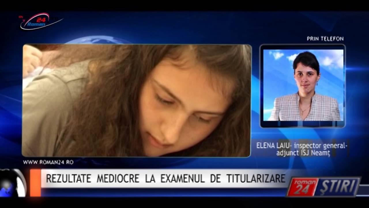 REZULTATE MEDIOCRE LA EXAMENUL DE TITULARIZARE