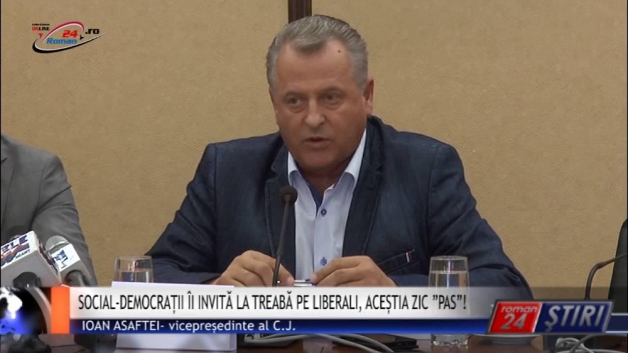 """SOCIAL- DEMOCRAȚII ÎI INVITĂ LA TREABĂ PE LIBERALI, ACEȘTIA ZIC """"PAS""""!"""