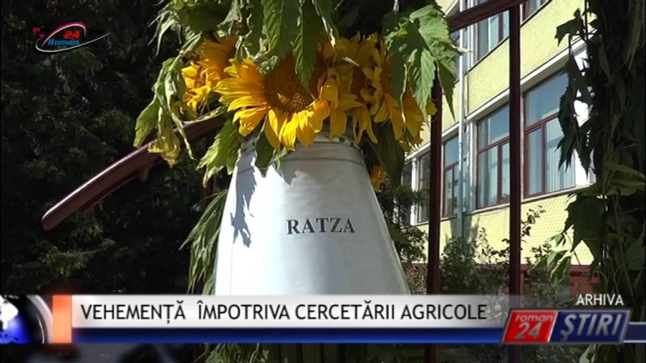 VEHEMENȚĂ ÎMPOTRIVA CERCETĂRII AGRICOLE