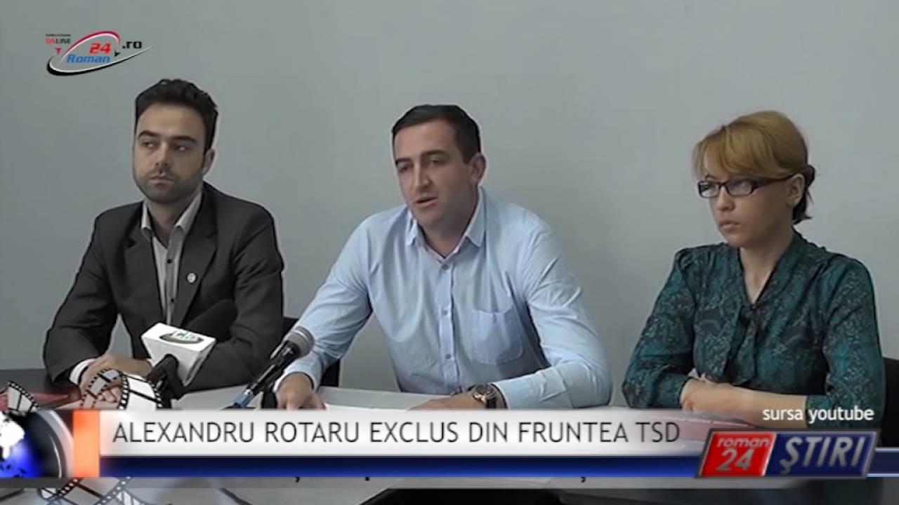 ALEXANDRU ROTARU EXCLUS DIN FRUNTEA TSD