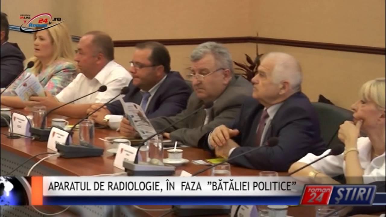 """APARATUL DE RADIOLOGIE, ÎN FAZA """"BĂTĂLIEI POLITICE"""""""