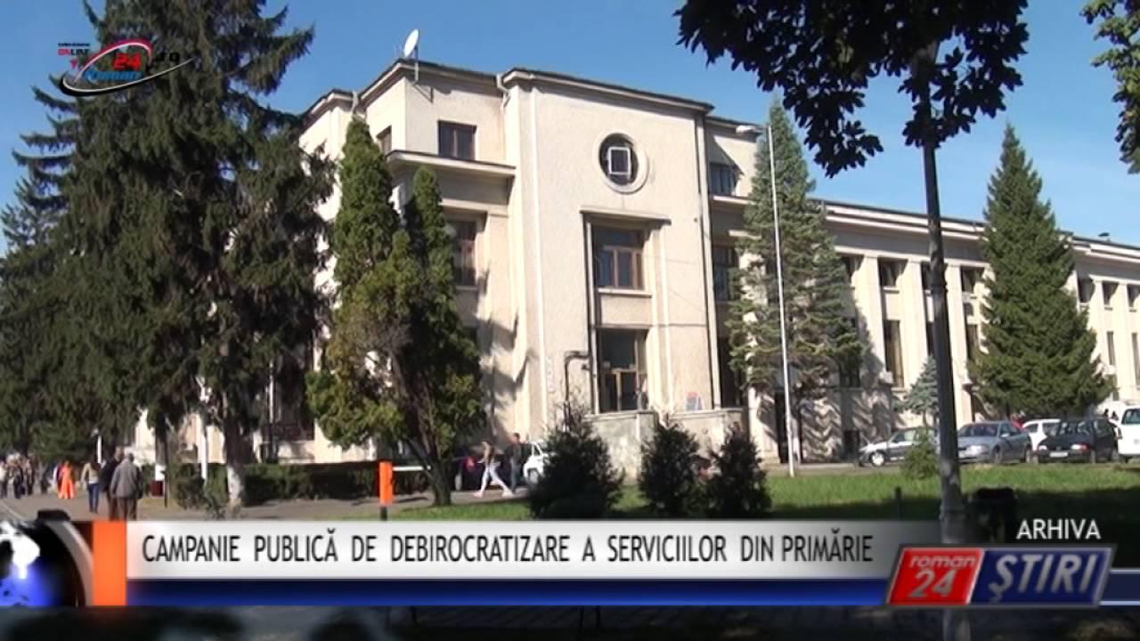 CAMPANIE PUBLICĂ DE DEBIROCRATIZARE A SERVICIILOR DIN PRIMĂRIE