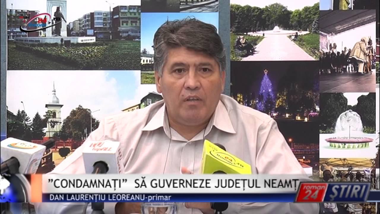 """""""CONDAMNAȚI"""" SĂ GUVERNEZE JUDEȚUL NEAMȚ"""