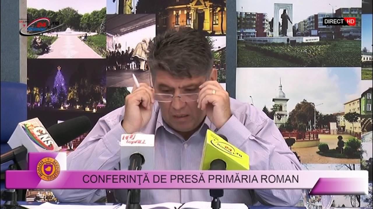 CONFERINTA DE PRESA PRIMARIA ROMAN – 29.08.201