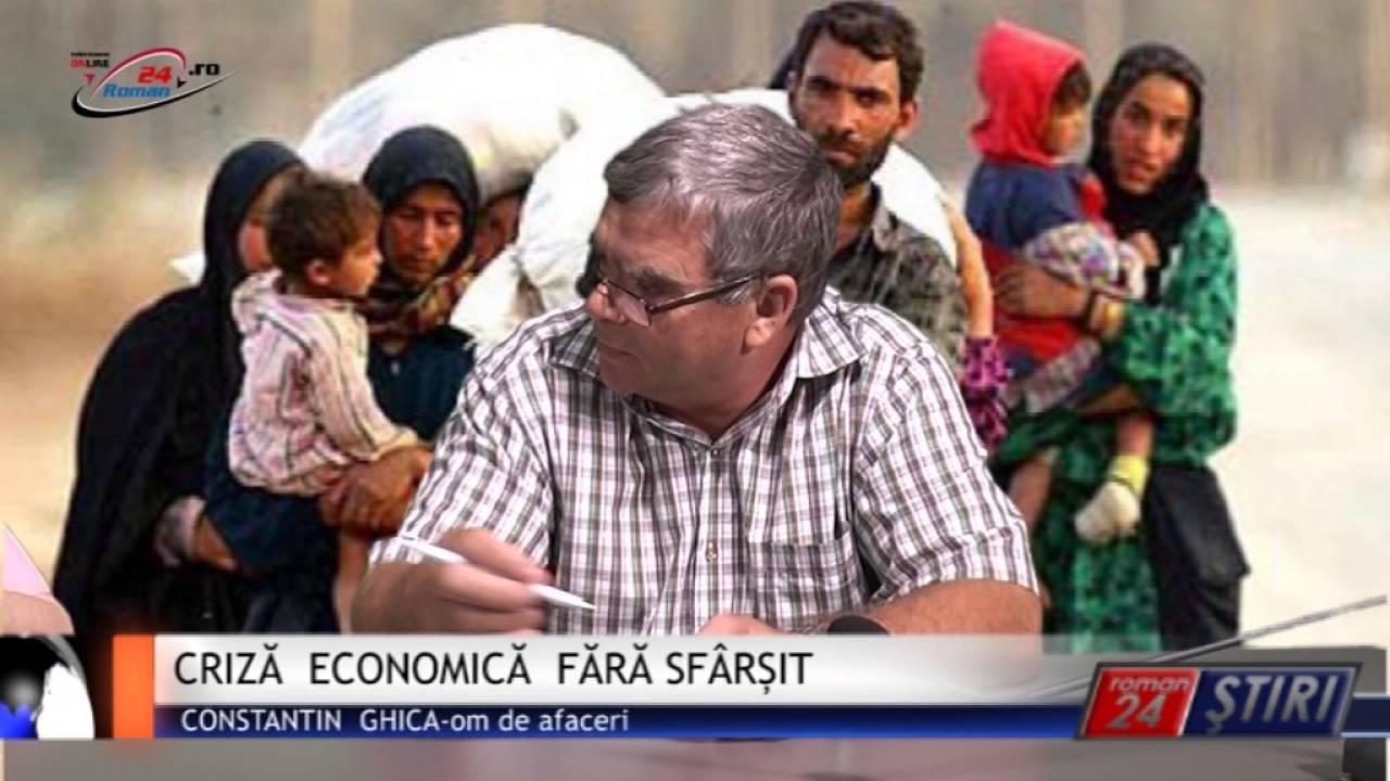 CRIZĂ ECONOMICĂ FĂRĂ SFÂRȘIT