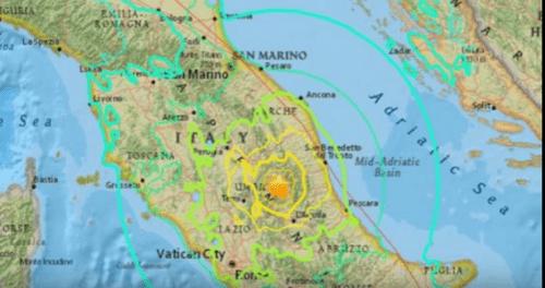 Cutremur puternic in centrul Italiei. Oamenii sunt prinsi sub daramaturi!