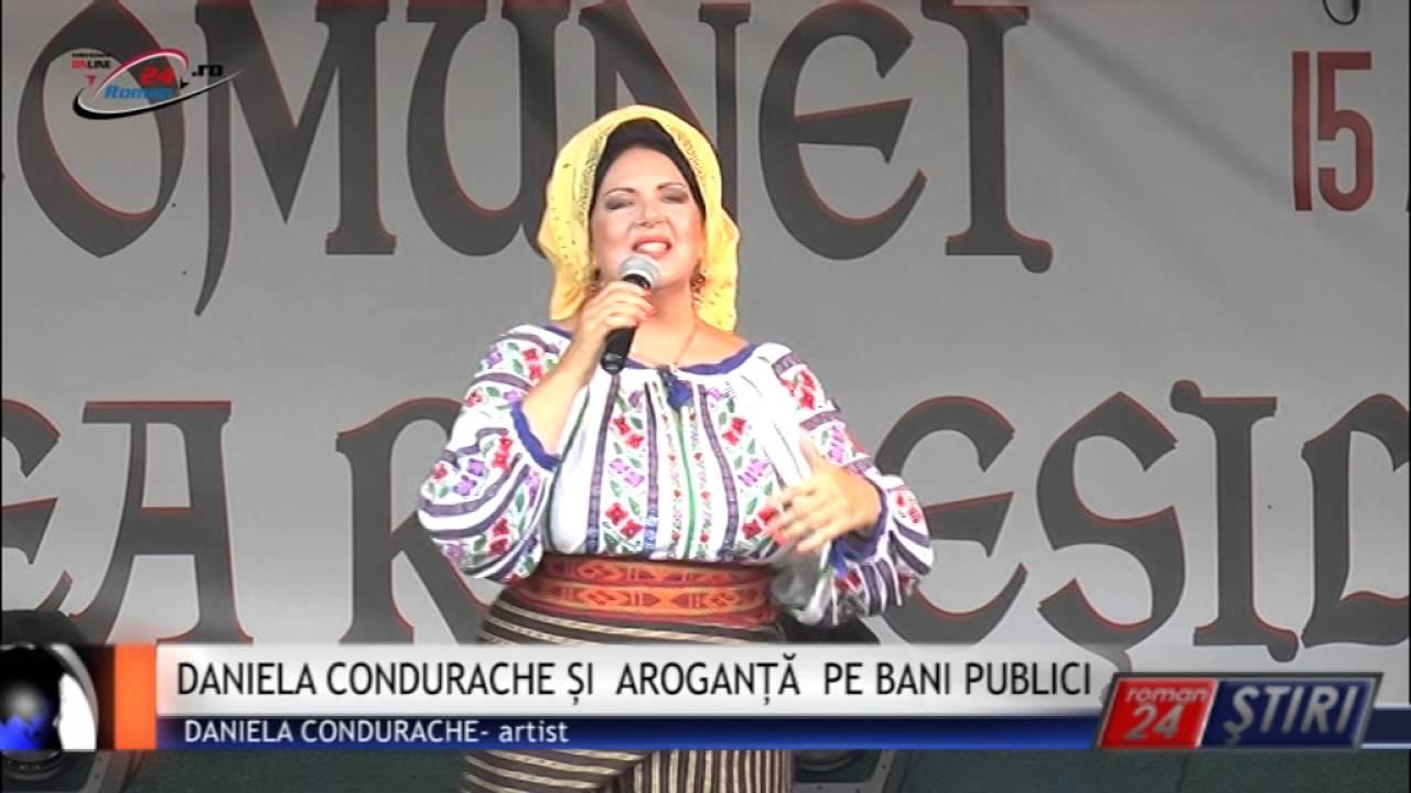 DANIELA CONDURACHE ȘI AROGANȚĂ PE BANI PUBLICI
