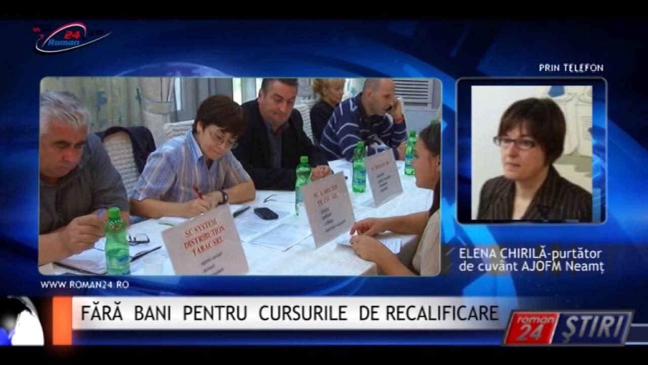 FĂRĂ BANI PENTRU CURSURILE DE RECALIFICARE