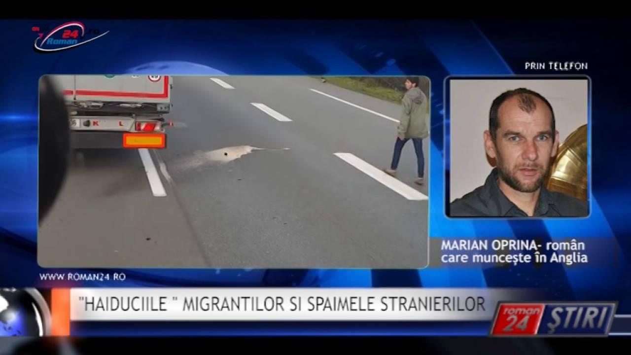 HAIDUCIILE MIGRANTILOR SI SPAIMELE STRANIERILOR