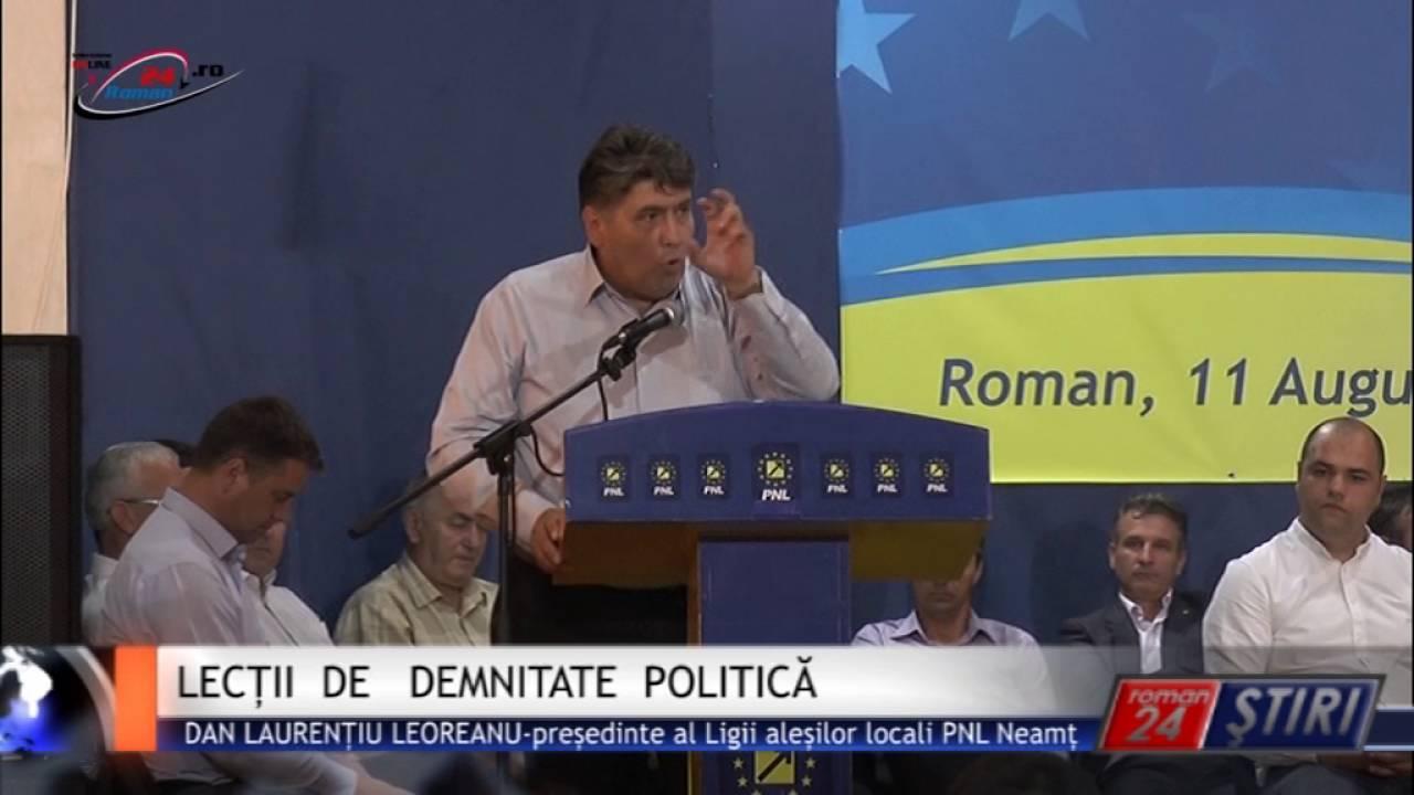 LECȚII DE DEMNITATE POLITICĂ