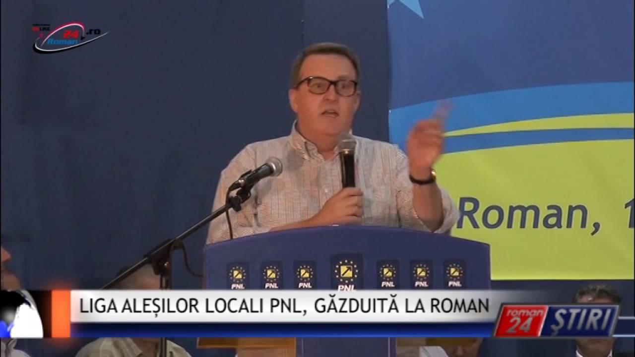 LIGA ALEȘILOR LOCALI PNL, GĂZDUITĂ LA ROMAN