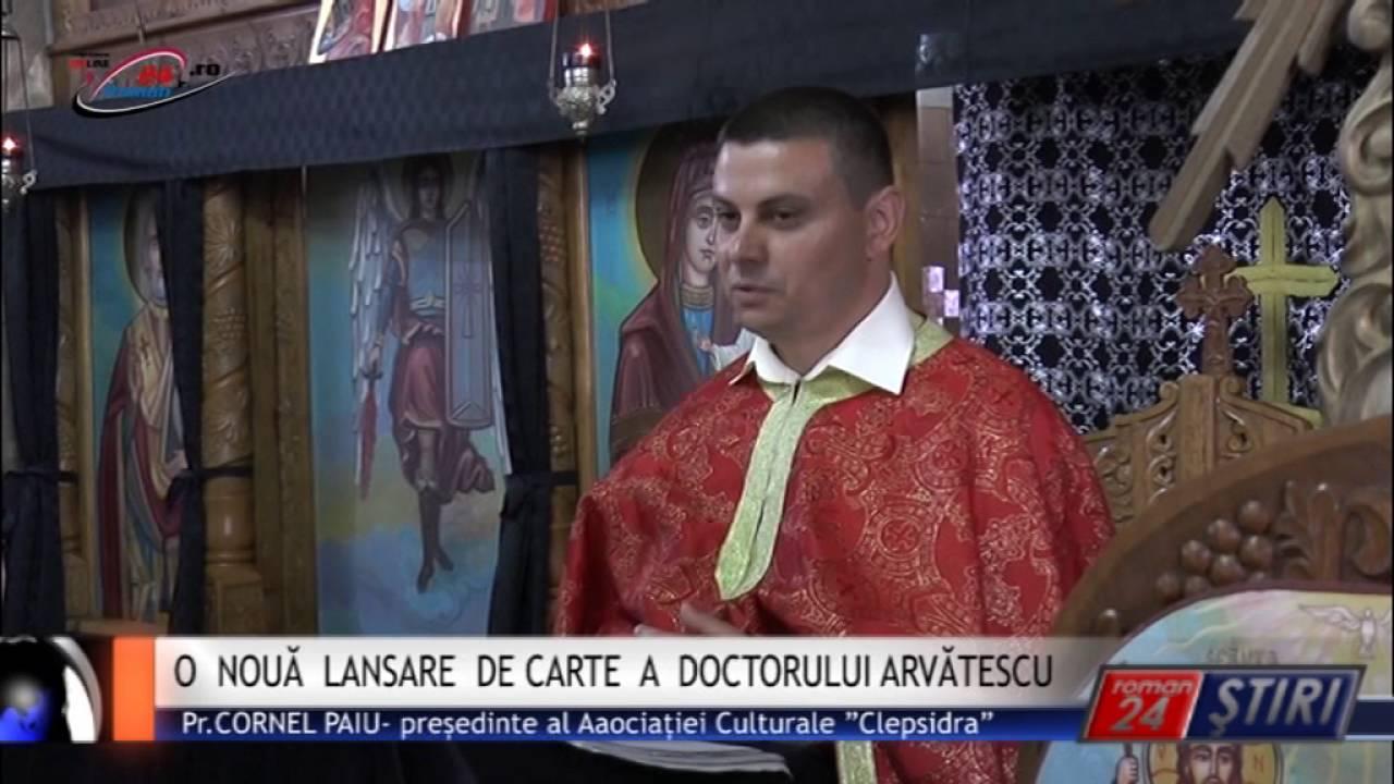 NOUĂ LANSARE DE CARTE A DOCTORULUI ARVĂTESCU