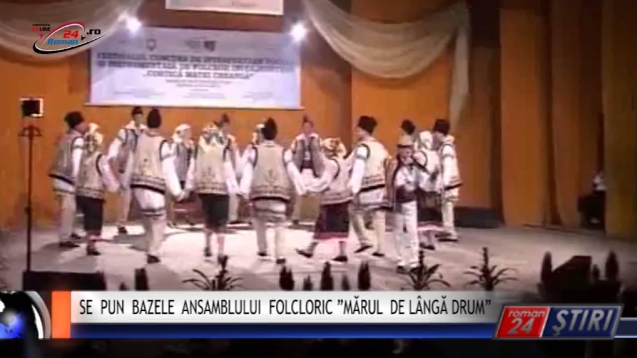 """SE PUN BAZELE ANSAMBLULUI FOLCLORIC """"MĂRUL DE LÂNGĂ DRUM"""""""