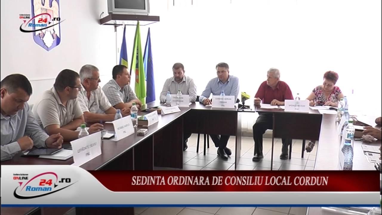 Sedinta Ordinara de Consiliu Local Cordun